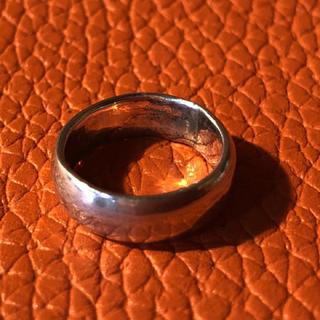 甲丸 シルバー925 リング  6号 ピンキー シンプル クリスマス ギフト (リング(指輪))
