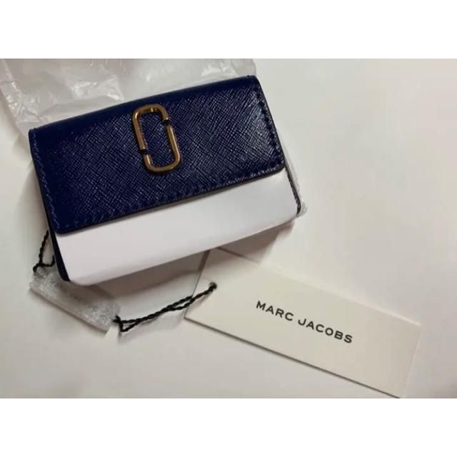 MARC JACOBS(マークジェイコブス)のMARCJACOBS ミニ財布 新品 マークジェイコブス 三つ折り財布 正規品 レディースのファッション小物(財布)の商品写真