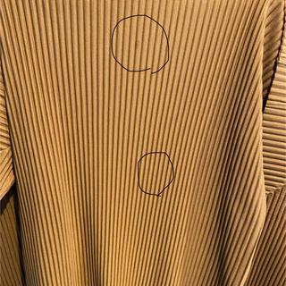 プリーツプリーズイッセイミヤケ(PLEATS PLEASE ISSEY MIYAKE)のHOMME PLISSE ISSEY MIYAKE ハイネックカットソー(Tシャツ/カットソー(七分/長袖))