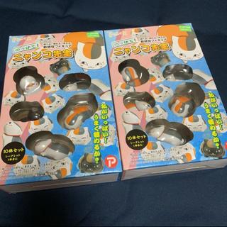 ハクセンシャ(白泉社)の夏目友人帳 のっけて!ニャンコ先生 フィギュア(キャラクターグッズ)