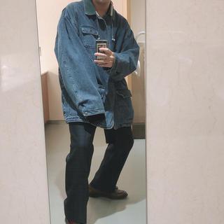 ポロラルフローレン(POLO RALPH LAUREN)の古着 オーバーサイズ デニムジャケット(Gジャン/デニムジャケット)