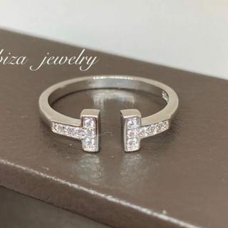 Tiffany & Co. - ✨最高級✨ティファニー好き✨Tワイヤーリング✨ホワイトゴールド✨大幅値下げ✨