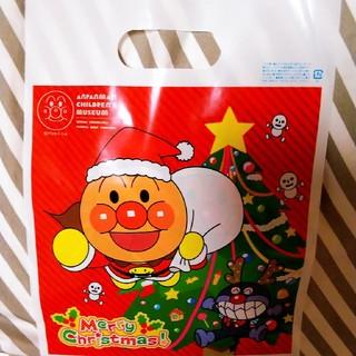 アンパンマン(アンパンマン)のアンパンマンミュージアム クリスマスデザインバッグ(ショップ袋)