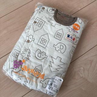 familiar - 新品未使用 正規品 赤ちゃんの城 70 日本製 カバーオール 厚手ロンパース