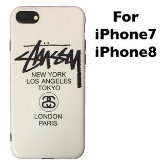 ステューシー(STUSSY)のiPhone7 iPhone8 ケース STUSSY ステューシー アウトレット(iPhoneケース)