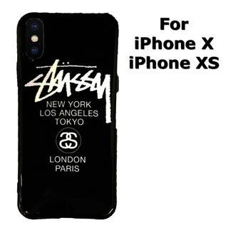 ステューシー(STUSSY)のiPhoneX iPhoneXS ケース STUSSY ステューシー(iPhoneケース)