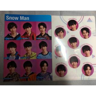 snow man クリアファイル(アイドルグッズ)