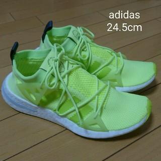 アディダス(adidas)の美品 adidas24.5cm ランニングシューズ(シューズ)