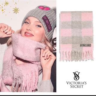 Victoria's Secret - ヴィクトリアシークレット ピンク マフラー Victoria secret
