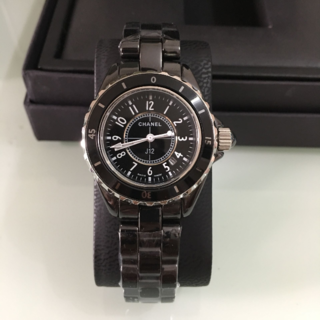 CHANEL - 腕時計 33mm 黒