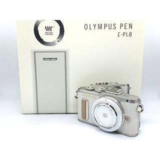 オリンパス(OLYMPUS)の★人気のホワイトカラー♪ ★OLYMPUS オリンパス PEN E-PL8(ミラーレス一眼)
