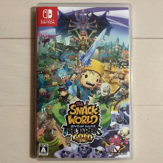 Nintendo Switch - スナックワールド トレジャラーズ ゴールド switc