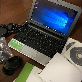 デル(DELL)のコンパクトノートPC DELL MINI10 外付けDVDセット(ノートPC)