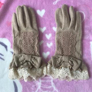 アクシーズファム(axes femme)のaxes手袋(手袋)