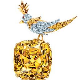 ティファニー(Tiffany & Co.)の激レア❤️カナリーイエローモアサナイトダイヤモンドリング❤️美品❤️8号(リング(指輪))