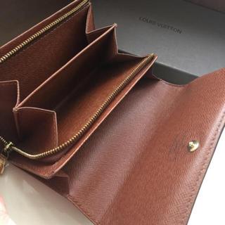 LOUIS VUITTON - 正規品ルイヴィトンモノグラムL字ファスナー 折財布