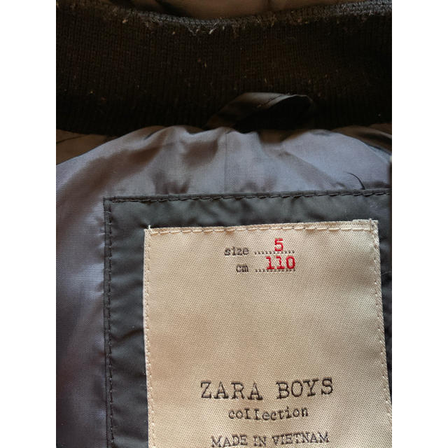 ZARA KIDS(ザラキッズ)のZARABOYSダウンベスト100.110 キッズ/ベビー/マタニティのキッズ服男の子用(90cm~)(ジャケット/上着)の商品写真