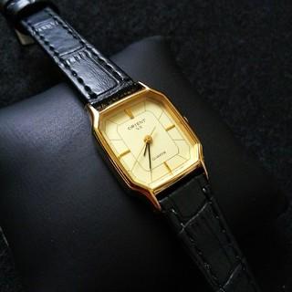 オリエント(ORIENT)の電池ベルト交換済 オリエント ORIENT VX GP オールド クオーツ(腕時計)