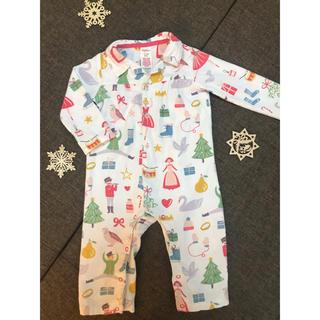 Boden - ☆今の時期にぴったり☆ボーデンのクリスマス柄が最高に可愛いパジャマ ロンパース