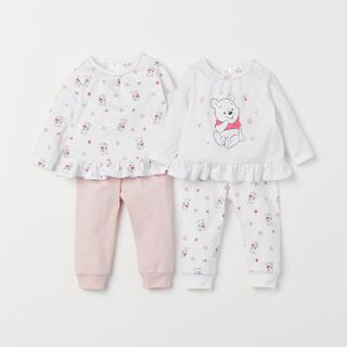 H&M - H&Mパジャマ2枚組 くまのプーさん