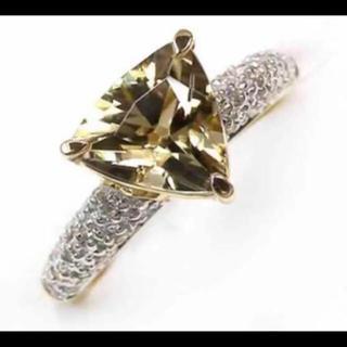 【華やか】天然ダイヤスポア ダイヤモンド リング(リング(指輪))