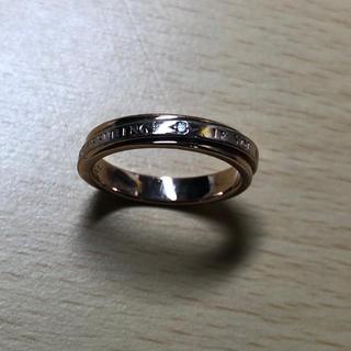 ピンクシルバーダイヤリング☆(リング(指輪))