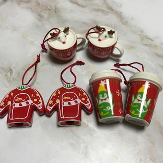 スターバックスコーヒー(Starbucks Coffee)の新品 未使用 スターバックス  オーナメント クリスマスツリー(その他)