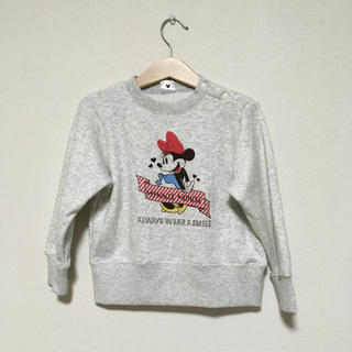 Disney - ディズニー ミニー裏起毛スウェット