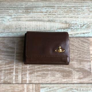 ヴィヴィアンウエストウッド(Vivienne Westwood)のVivienne Westwood 三つ折り財布 ブラウン(財布)