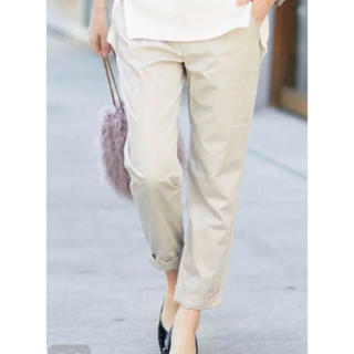 ラウンジドレス(Loungedress)の再値下げ Loungedress 裾ねじりパンツ サイズ1(クロップドパンツ)