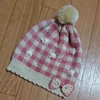 スーリー(Souris)のスーリー ニット帽子 S(帽子)