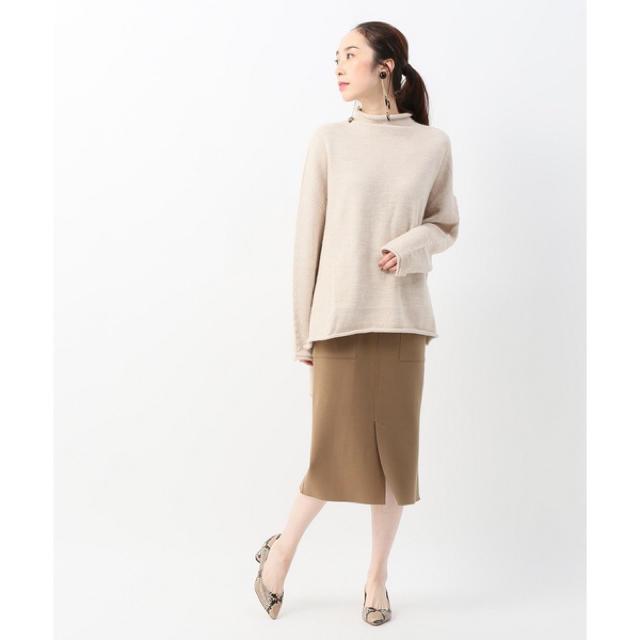 Plage(プラージュ)の未使用 Plage COMPRESSIONタイトスカート 34 レディースのスカート(ひざ丈スカート)の商品写真