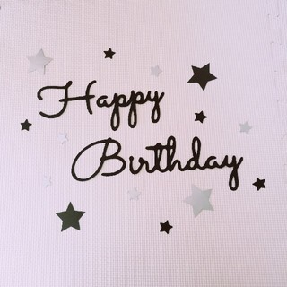 誕生日 飾り birthdayバナー