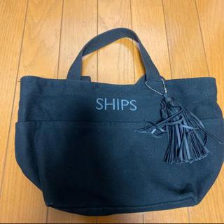 SHIPS - シップス タッセル付 トートバッグ