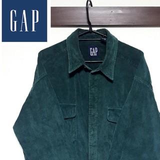 GAP - OLD GAP green シャツ