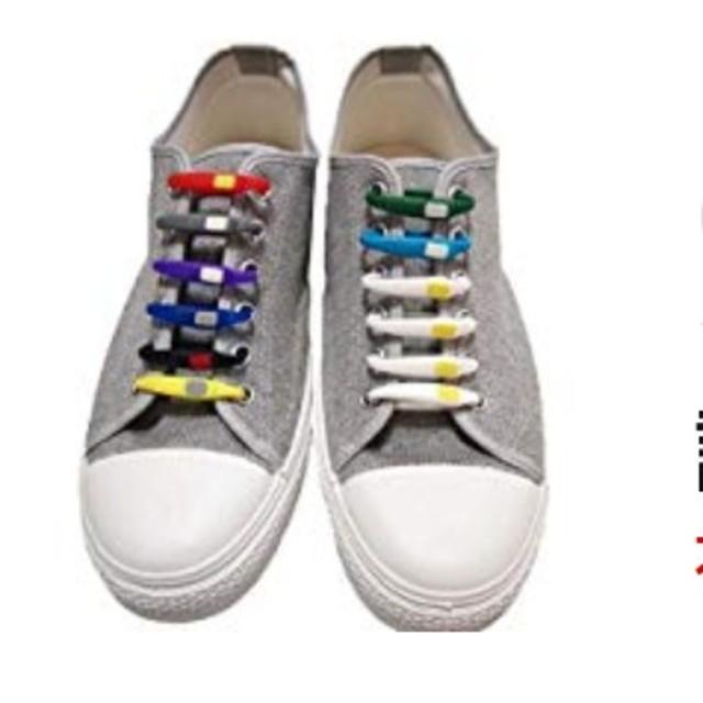 シリコン製 結ばない靴紐 レディースの靴/シューズ(その他)の商品写真