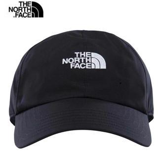 ザノースフェイス(THE NORTH FACE)の新品 タグ付き ノースフェイス ロゴ ゴアテックス ブラック キャップ(キャップ)
