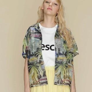 2019S/S リップストッププリントシャツ グレースコンチネンタル シャツ