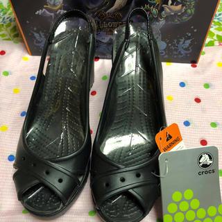 crocs - クロックス W6 黒