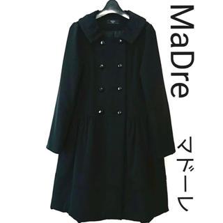 フォクシー(FOXEY)のマドーレ コート 中綿コート 美品 38 Mサイズ 人気の黒! 貴重(ロングコート)