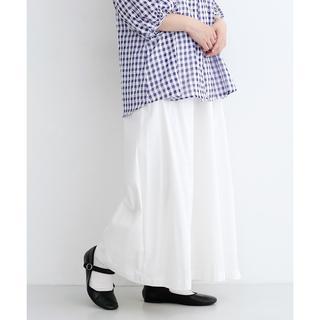 メルロー merlot パンツ 白 綿100%