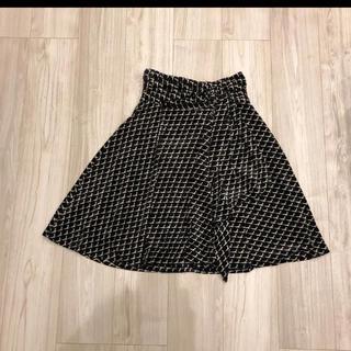 バーニーズニューヨーク(BARNEYS NEW YORK)のBARNEYSNEWYORKバーニーズニューヨークベロアハイウエストスカート36(ひざ丈スカート)