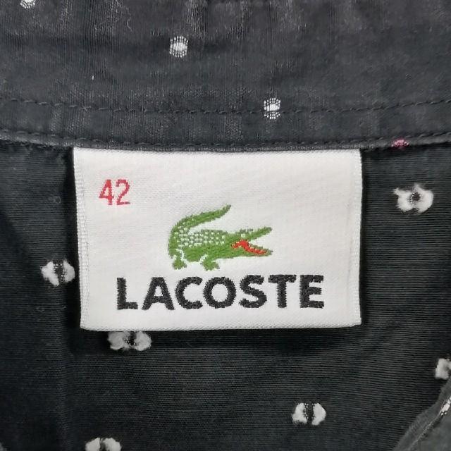 LACOSTE(ラコステ)のラコステ レディース/ドットシャツ レディースのトップス(シャツ/ブラウス(半袖/袖なし))の商品写真