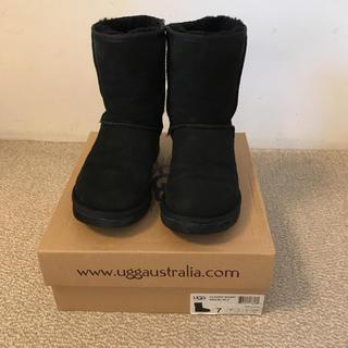 UGG - UGG 24cm ムートンブーツ ブラック