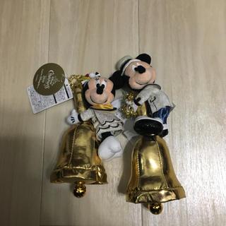 ディズニー(Disney)の『新品未使用』ディズニーシー限定☆イッツクリスマスタイム☆ミッキー&ミニー☆ベル(キャラクターグッズ)