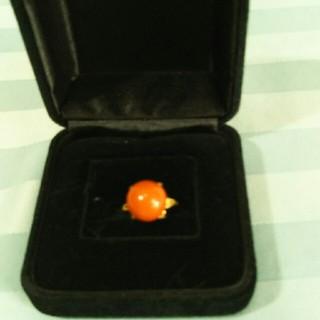 珊瑚のリング(リング(指輪))