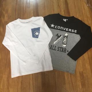 コンバース(CONVERSE)のコンバース  ロンT2枚  130(Tシャツ/カットソー)