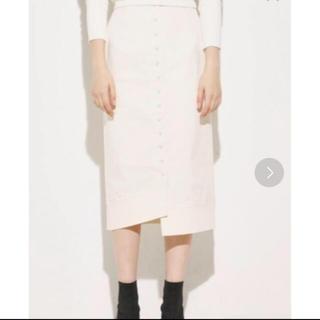 スライ(SLY)のSLY フロントボタンスカート(ひざ丈スカート)