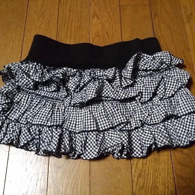 Avail(アベイル)のミニスカート ギンガムチェック レディースのスカート(ミニスカート)の商品写真