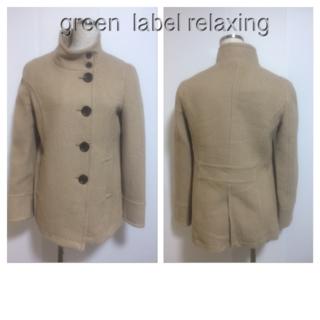 グリーンレーベルリラクシング(green label relaxing)のgreenlabelrelaxing 38 ☆46677(チェスターコート)